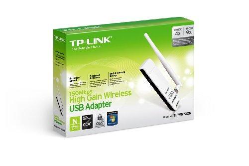 TP-Link TL-WN722N USB 2.0 802.11a/b/g/n Wi-Fi Adapter