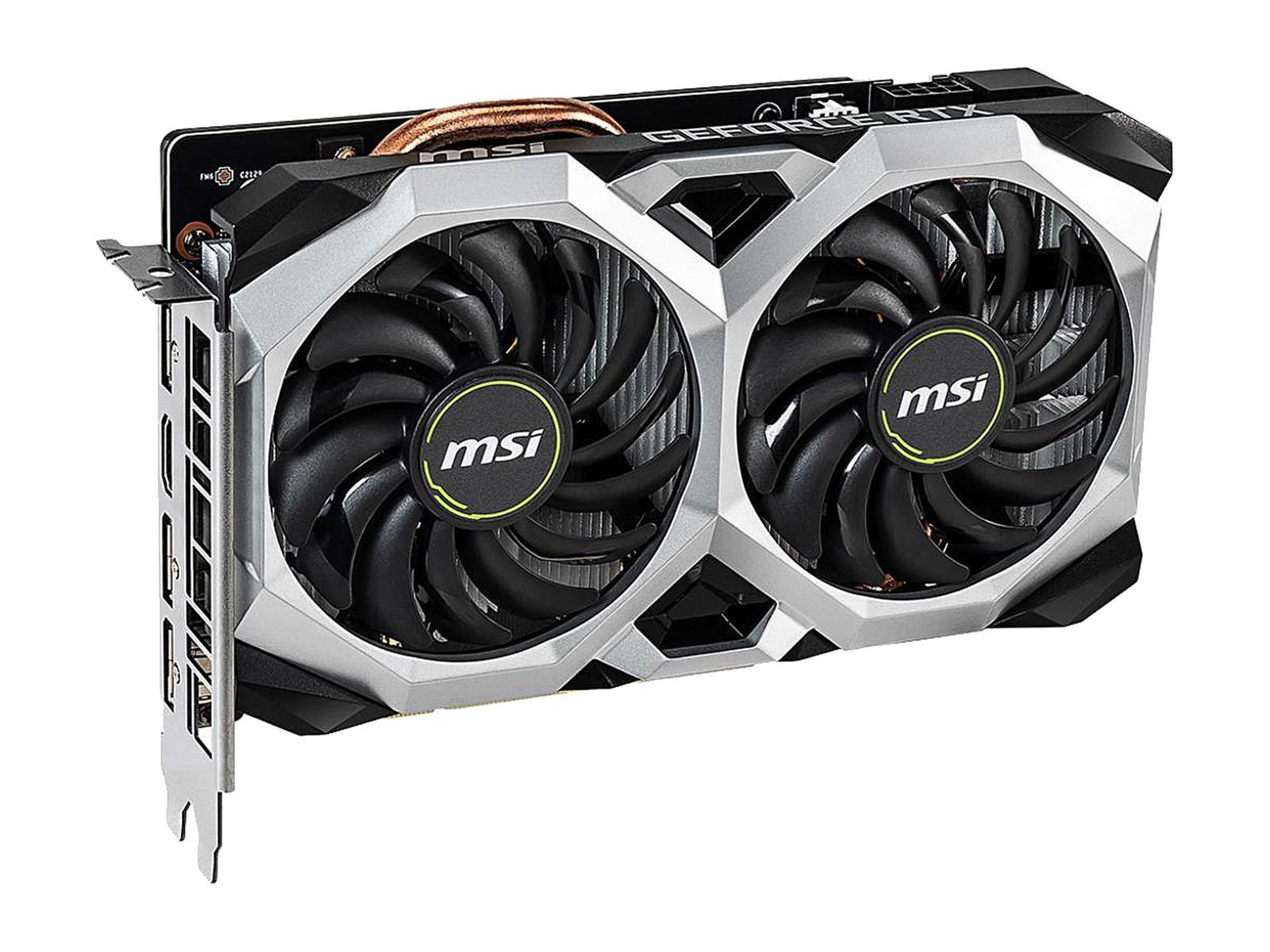 MSI GeForce RTX 2060 6 GB VENTUS XS OC Video Card