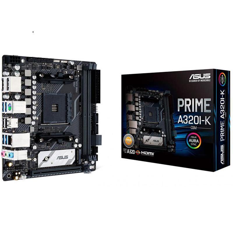 Asus PRIME A320I-K/CSM Mini ITX AM4 Motherboard