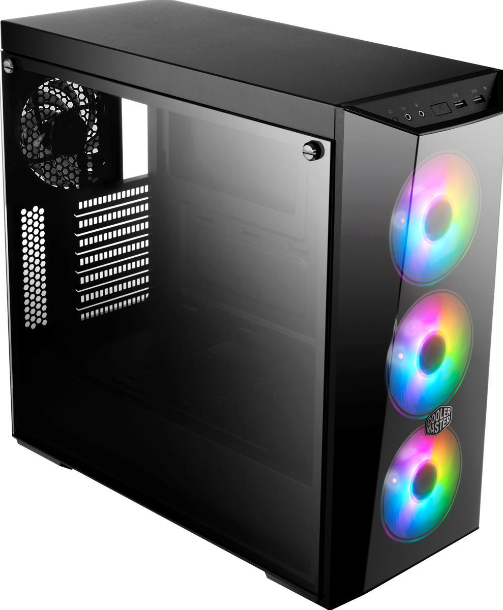 Cooler Master MasterBox LITE 5 ARGB ATX Mid Tower Case