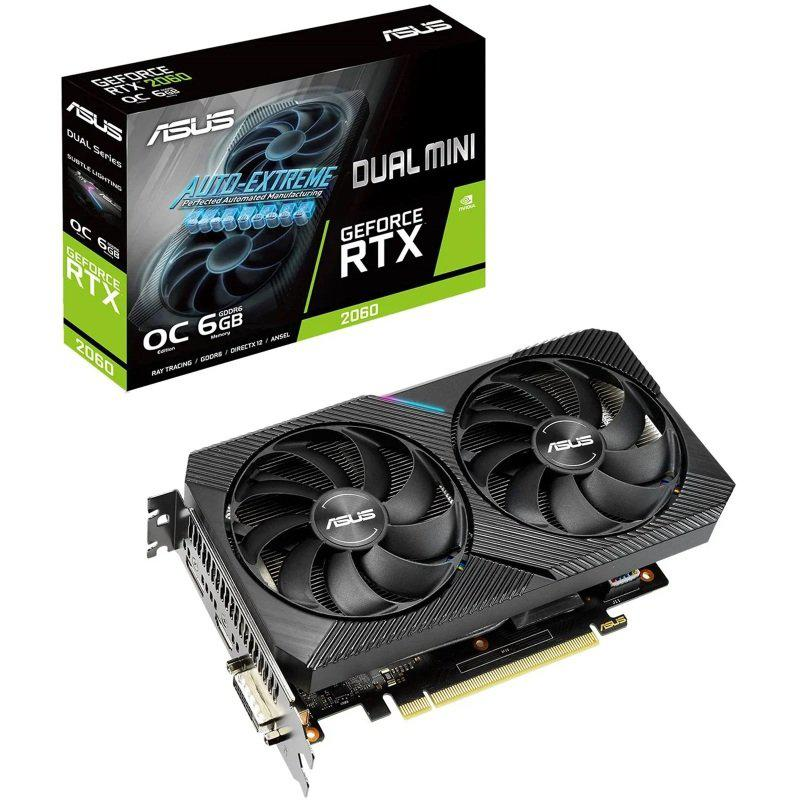 Asus GeForce RTX 2060 6 GB DUAL MINI OC Video Card