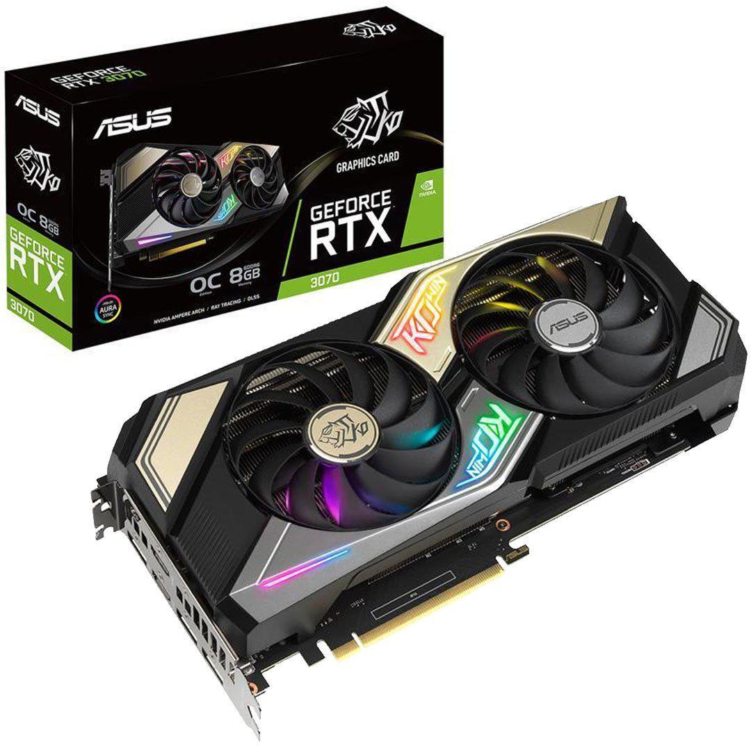 Asus GeForce RTX 3070 8 GB KO Gaming OC Video Card