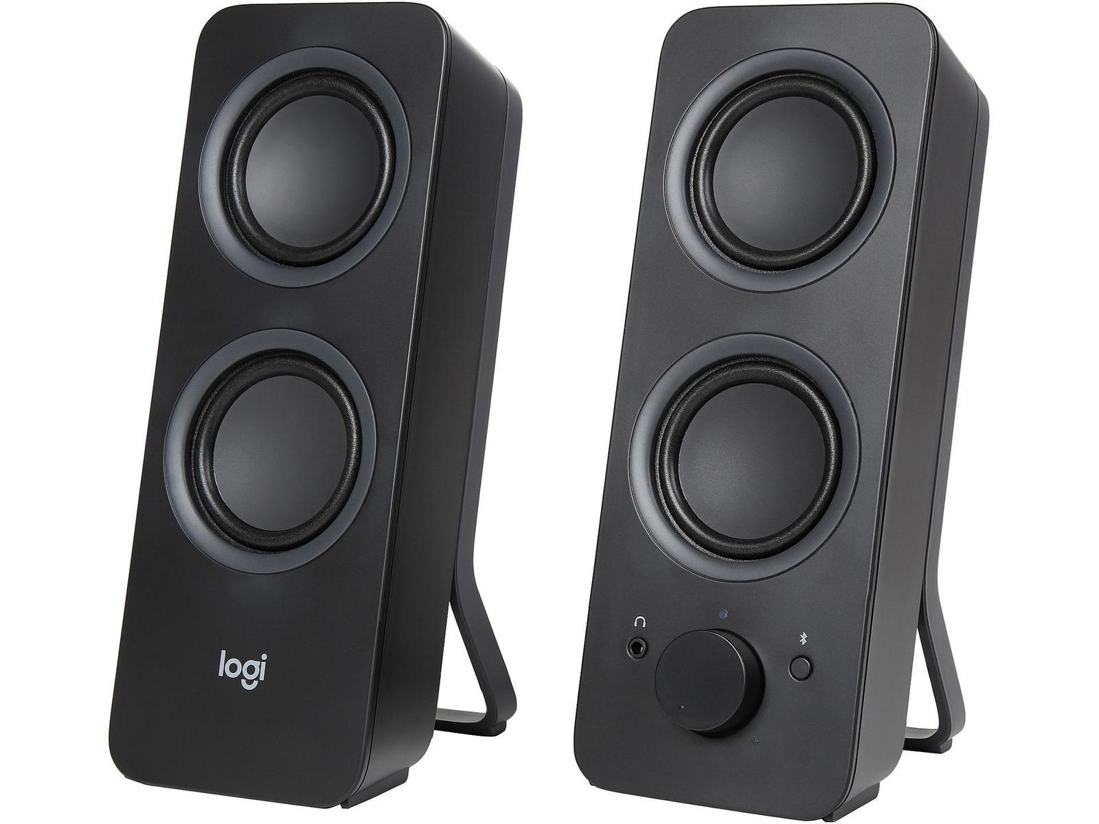 Logitech Z207 (Black) 10 mW 2.0 Channel Speakers