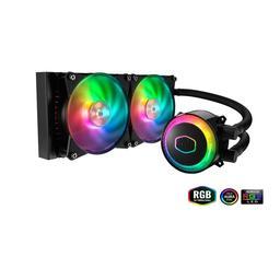 Cooler Master MasterLiquid ML240R RGB 66.7 CFM Liquid CPU Cooler