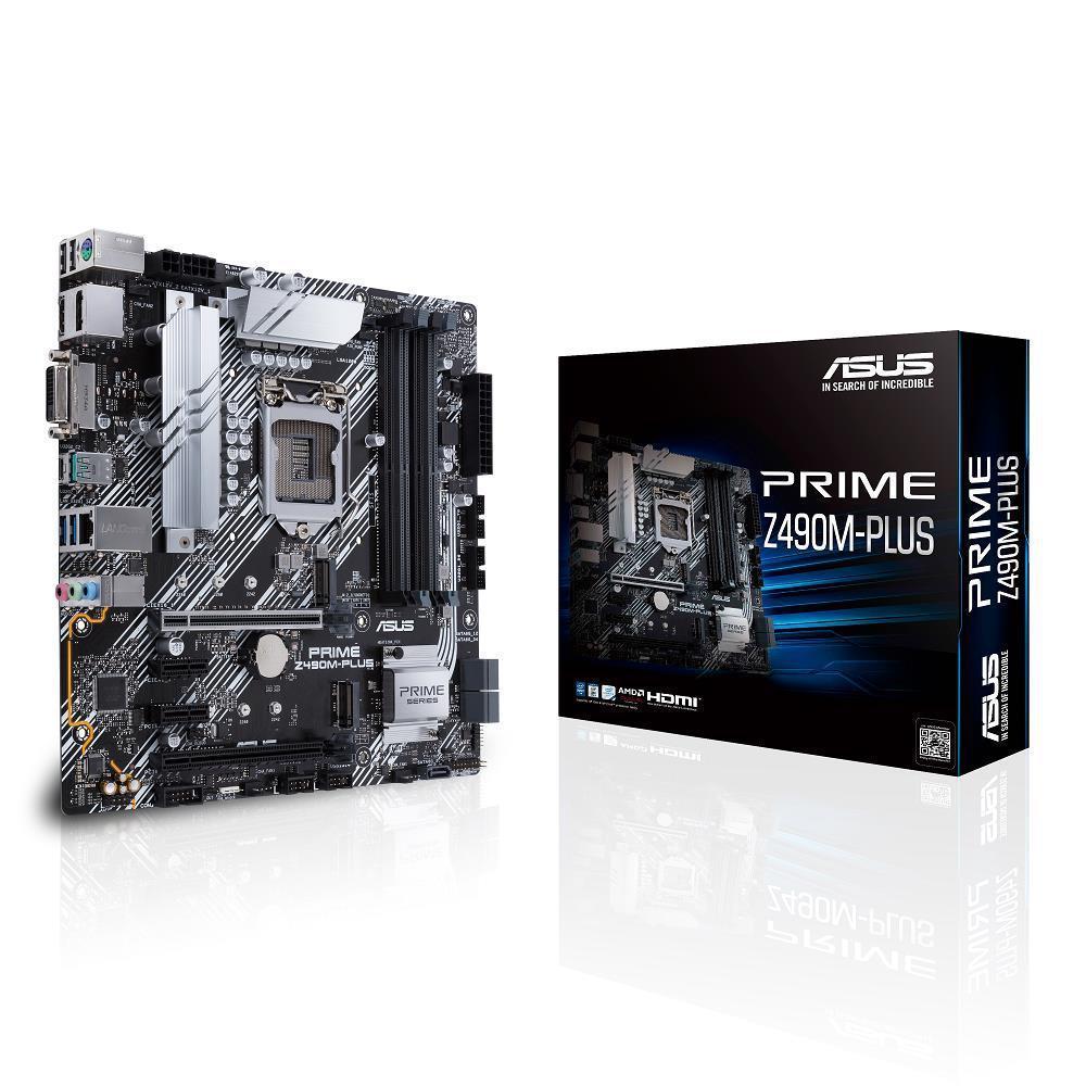 Asus PRIME Z490M-PLUS Micro ATX LGA1200 Motherboard