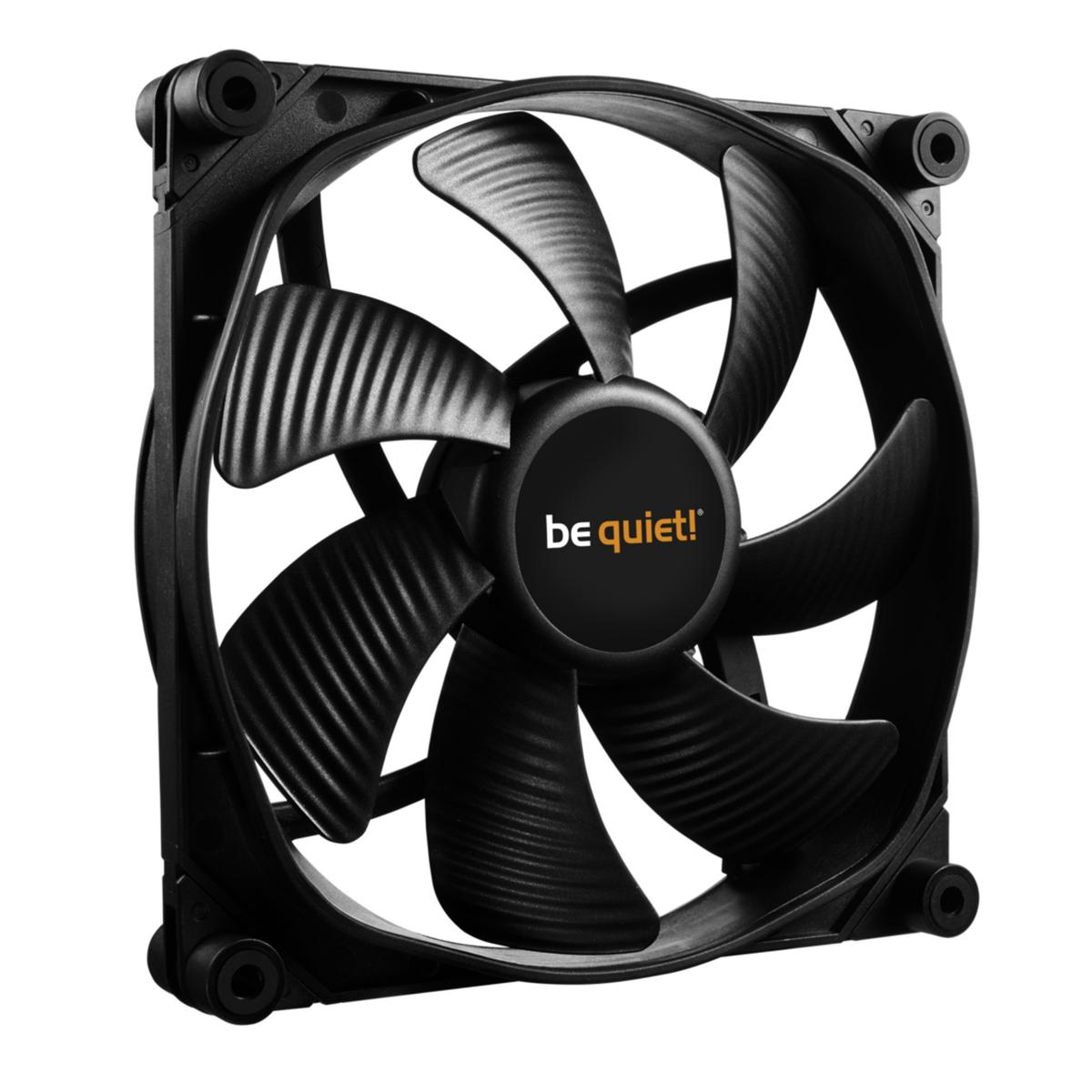be quiet! SilentWings 3 PWM High-Speed 77.57 CFM 140 mm Fan